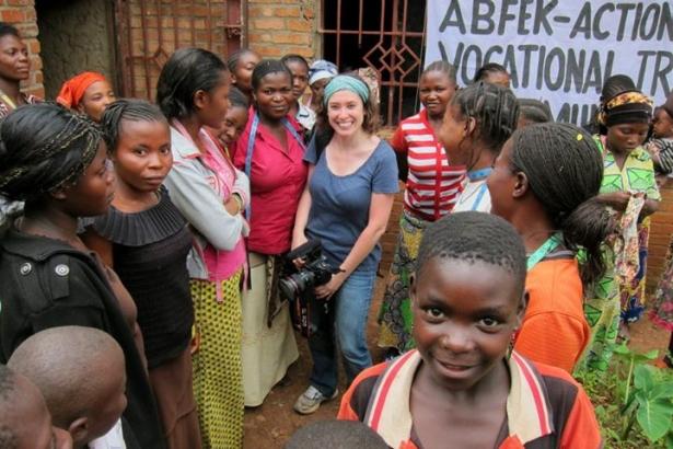 Cate in Congo