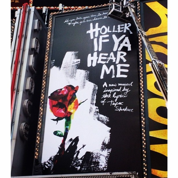 'Holler If Ya Hear Me' Billboard in Times Square
