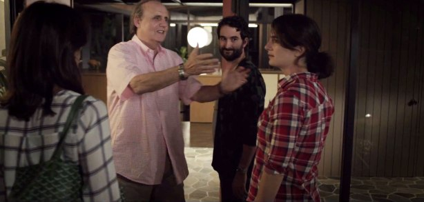 Amy Landecker, Jeffrey Tambor, Jay Duplass and Gaby Hoffmann in 'Transparent'