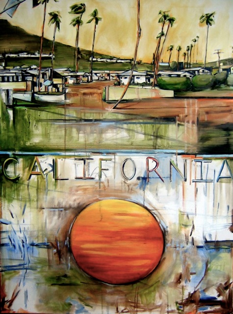 California, 36 x 48 inches, oil on canvas, 2005