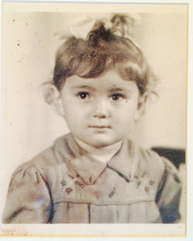 My Mom, Tamara, 3 years old