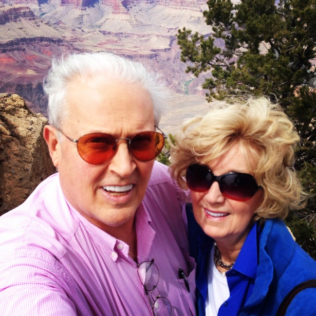 Mom and Dad Selfie! Southwestern road trip 2014