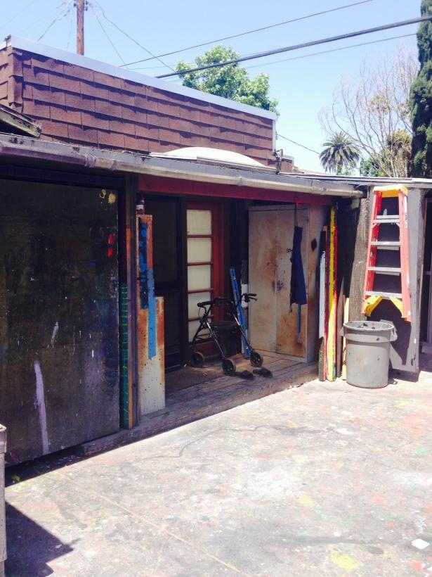 Ed Moses art studio/residence