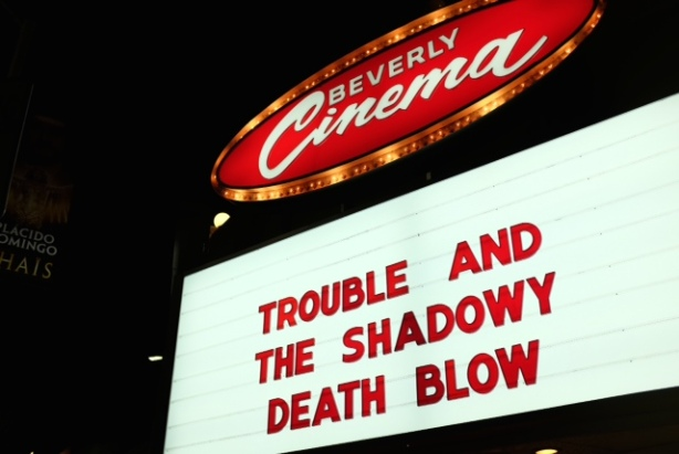 "Los Angeles Cast & Crew Screening of ""Trouble and The Shadowy Death Blow."""