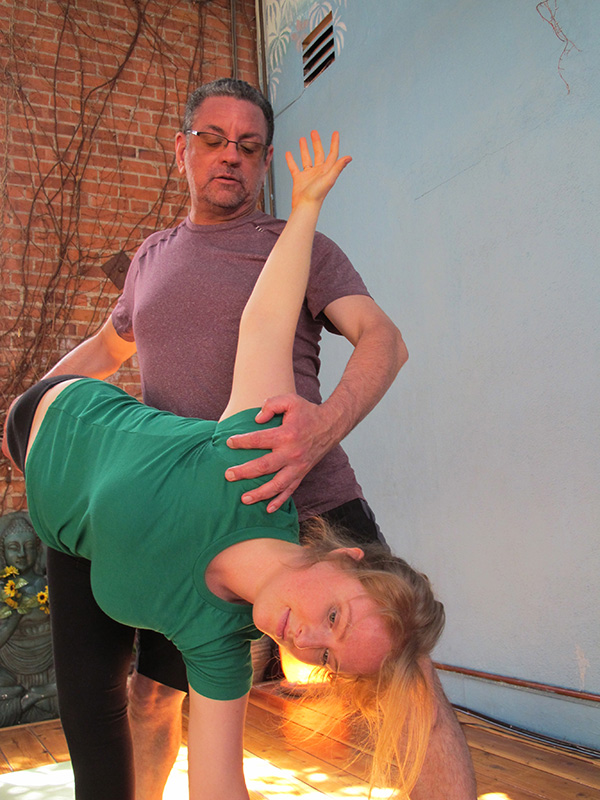 Steven Teaching at Liberation Yoga