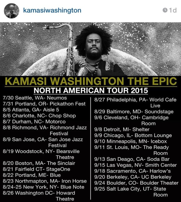 Kamasi Tour