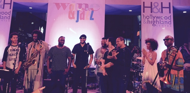 Wine & Jazz at Hollywood & Highland photo by Tamara Ham
